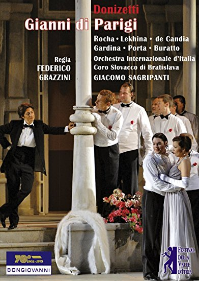 DONIZETTI'S GIANNI DI PARIGI ON DVD